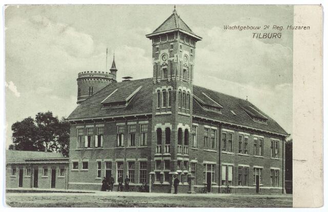 000202 - Generaal Kromhout kazerne aan de Bredaseweg, wachtgebouw 2 regiment huzaren