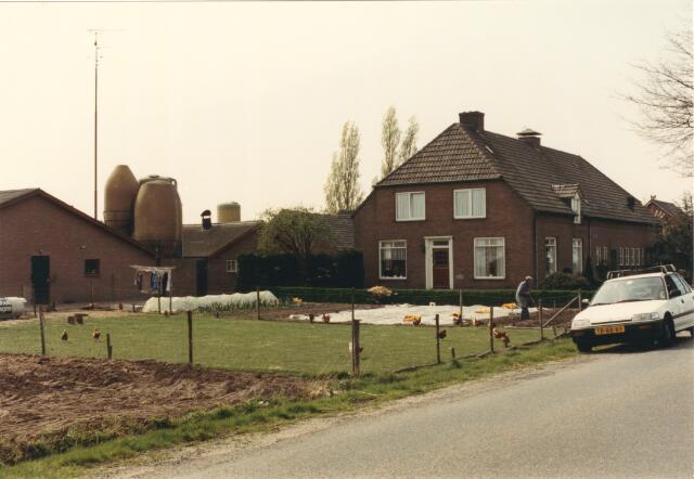 650839 - Gebied waar de latere woonwijk 'De Reeshof' is gebouwd.