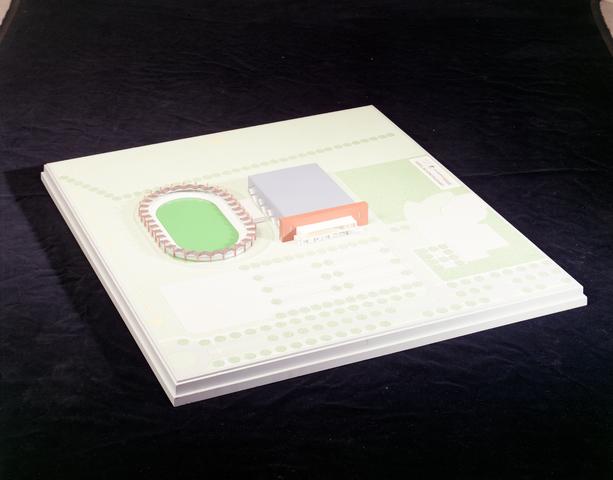 D-001014-2 - Maquette IJssportakkomodatie Tilburg (Architectenbureau Bollen)
