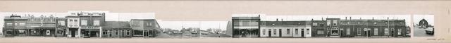 1625_0232 - Fotostrook; straatwand; panden aan de linten en hoofdverbindingswegen in het centrum van de stad; ; foto's werden tussen 1976 en 1985 gemaakt. (foto gemaakt in periode 1976-1985)