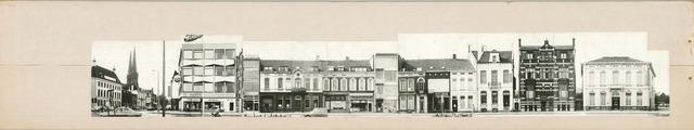 1625_0252 - Fotostrook; straatwand; panden aan de linten en hoofdverbindingswegen in het centrum van de stad; Spoorlaan 306-354