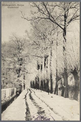 102722 -  Ridderstraat (Winter. Slotjes.)