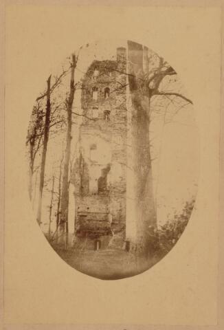 103551 - Ruine van het Huis ten Strijen De Slotbossche toren