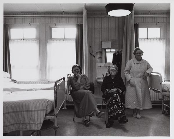 041774 - elisabethziekenhuis. Gezondheidszorg. Ziekenhuizen. Patiëntenkamers in het Maria-paviljoen van het St. Elisabethziekenhuis.