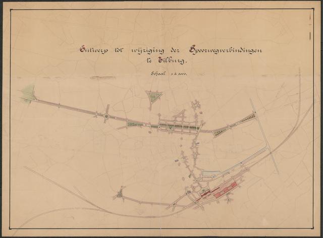652537 - Ontwerp tot wijziging der spoorwegverbindingen te Tilburg.