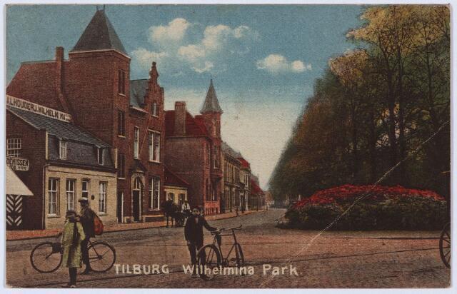 002798 - De noordzijde van het Wilhelminapark.
