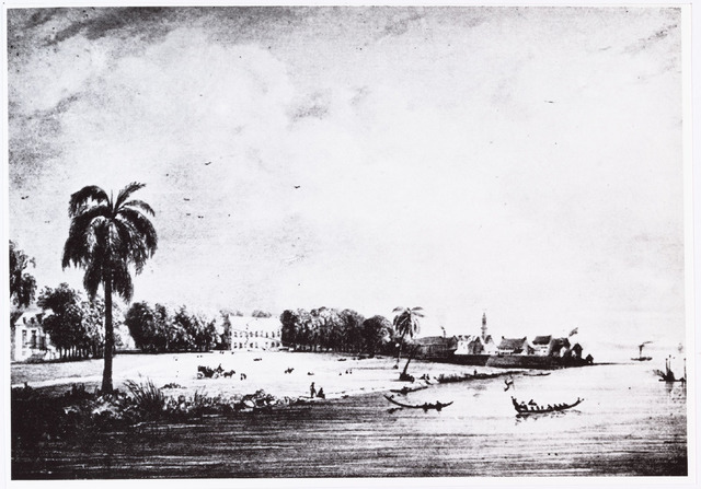 006828 - Aankomst van Petrus Donders in Paramaribo in de herft van 1842.