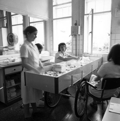 655765 - Elizabeth Ziekenhuis locatie Jan van Beverwijckstraat Tilburg in 1981.