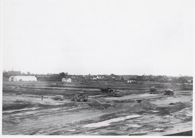 "036296 - Panorama vanaf flat aan de Frans Lisztstraat; uitbreidingsplan ""Noord Heikant"""