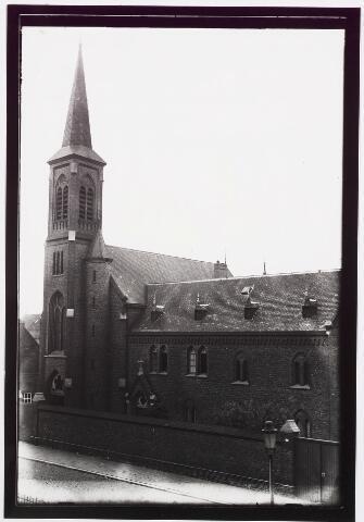 025403 - Klooster van de Clarissen in de Lange Nieuwstraat halverwege 1944