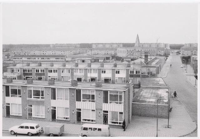 036664 - Panorama van Tilburg vanaf flats aan de Statenlaan