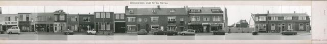 1625_0038 - Fotostrook; straatwand; panden aan de linten en hoofdverbindingswegen in het centrum van de stad; ; foto's werden tussen 1976 en 1985 gemaakt. (foto gemaakt in periode 1976-1985)