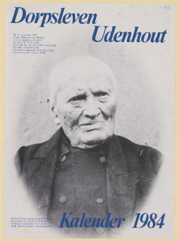 079599 - Op 27 september 1897 zorgde Wilhelmus van Haaren voor  een unieke gebeurtenis. Op Huize St. Felix vierde hij op die dag zijn honderdste verjaardag, bij welke gelegenheid hij werd vereeuwigd. Hij overleed op 9 januari 1898.
