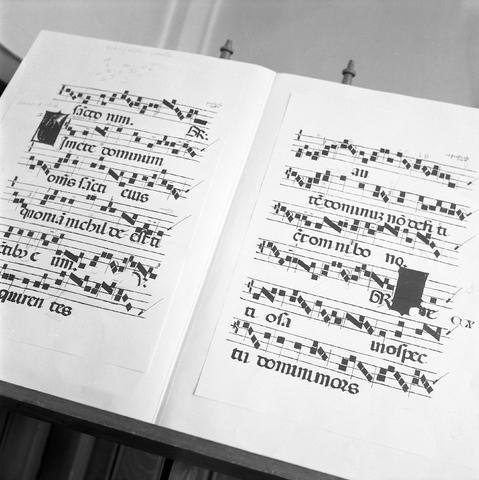 D-000022-5 - Brabants conservatorium : Gregoriaanse partituur