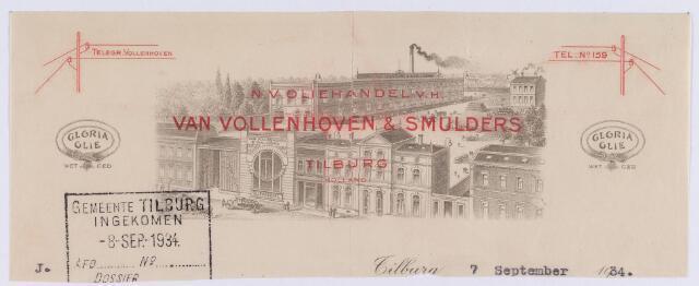 061363 - Briefhoofd. Briefhoofd van N.V. Oliehandel v/h Van Vollenhoven & Smulders