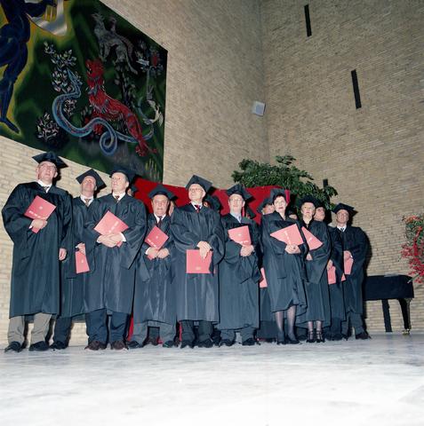 """D-00722 - Universiteit van Tilburg (voor het boek """"Beeld van een universiteit"""")"""