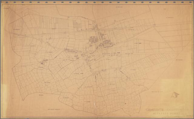 104899 - Kadasterkaart. Kadasterkaart Oosterhout. Schaal 1 : 2.500; Kerkdorp Dorst