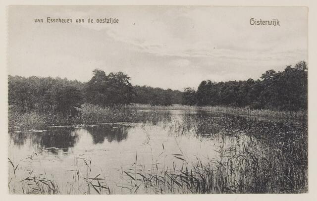 075185 - Serie ansichten over de Oisterwijkse Vennen.  Ven: Van Essenven. (Van Escheven)