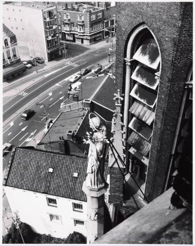 036390 - Panorama van Tilburg vanaf de toren van de Heuvelse kerk;