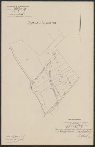 652597 - Kadaster. Hulpkaart 1902 Tilburg, Sectie E (De Blaak). Schaal 1:2500. 1902.