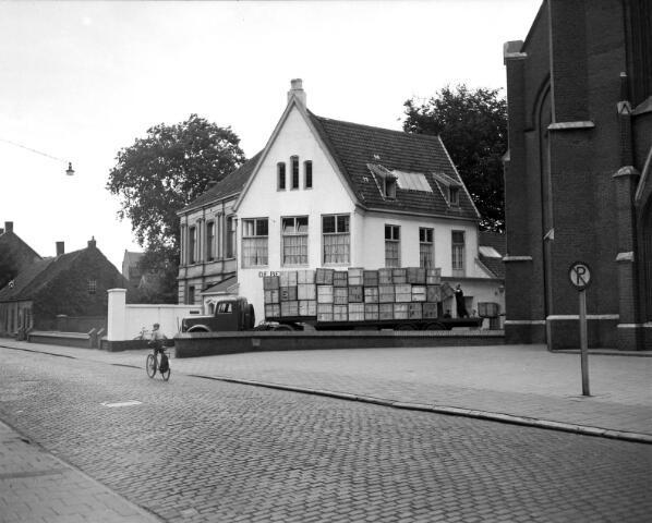 650471 - Schmidlin. Textielagentuur De Beer en Beijens NV aan de Gasthuisstraat 64, 1943.
