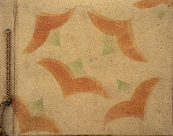 1700_23 - Foto- en versenboekje cadeau aan Bernard Straeter (1861-1920) van zijn nichtjes omstreeks 1910