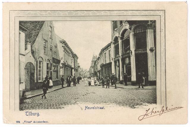 001160 - Heuvelstraat bij de Oude Markt richting Heuvel.