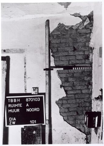 015747 - Archeologisch onderzoek in het pand Bokhamerstraat 13