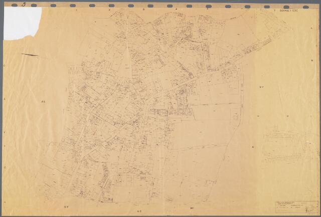 104892 - Kadasterkaart. Kadasterkaart Oosterhout Sectie S1, Schaal 1 : 1.250