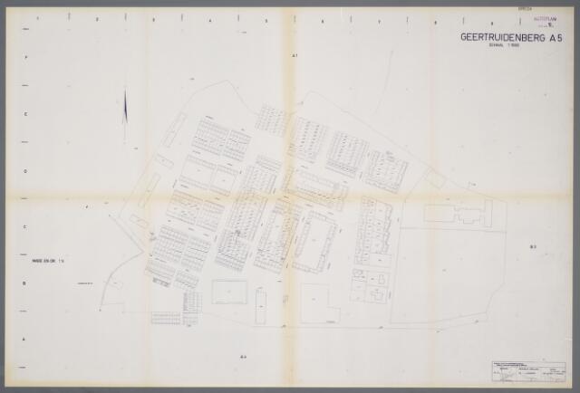 059409 - Kadasterkaart. Kadasterkaart Geertruidenberg A5