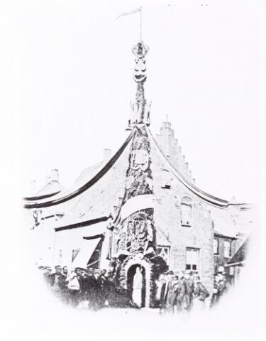 052628 - Nieuwe Koninklijke Harmonie nabij de Oude Ster Nieuwlandstraat.