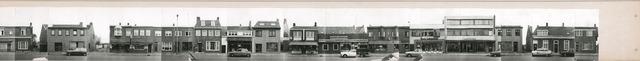 1625_0096 - Fotostrook; straatwand; panden aan de linten en hoofdverbindingswegen in het centrum van de stad; ; foto's werden tussen 1976 en 1985 gemaakt.