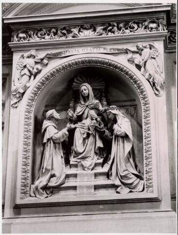 035915 - Interieur van de R.K. kerk van de H. Dionysius van het Heike thans Stadhuisplein