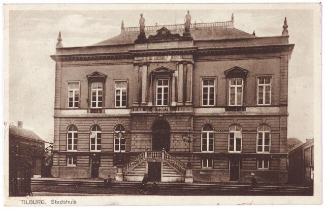 002341 - Voormalig gemeentehuis aan de Markt, nu Stadhuisplein.