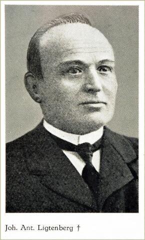 054584 - Johannes Antonius Ligtenberg oprichter stoomschoenfabriek Ligtenberg te Dongen.