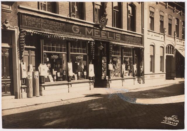 035286 - Panden Willem II-straat 96 en 96a met daarin gevestigd de Manufacturen en tapijtenhandel G. Meelis