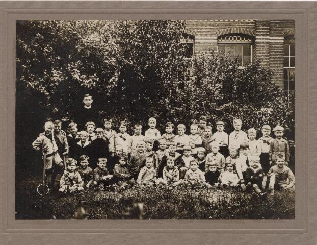 045080 - Klas van de r.k. bijzondere jongensschool St. Andreas aan de Bosscheweg (nu Tivolistraat) Deze school was een van de parochiescholen van de parochie Heuvel (St. Jozef)