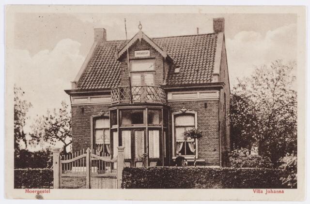 056884 - Villa Johanna. Deze villa, ongeveer ter plaatse van het huidige pand nummer 61, werd bewoond door de familie Fick.