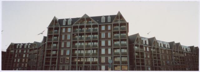 014232 - Torenflats aan de Anna Paulownahof op het voormalige Triborgh-terrein aan de zuidkant van het Koningsplein