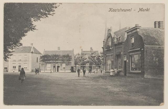 078896 - Kaatsheuvel, Markt.