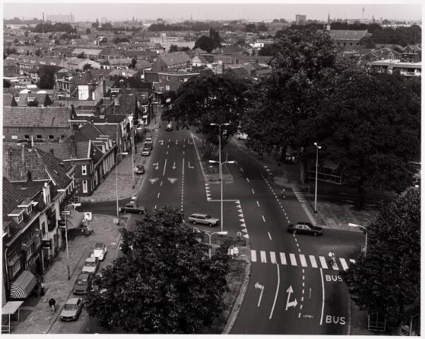 036478 - Panorama van Tilburg vanaf de kerktoren van de Korvelse kerk