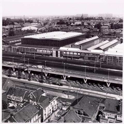 036601 - Panorama van Tilburg vanaf de P.T.T. Toren