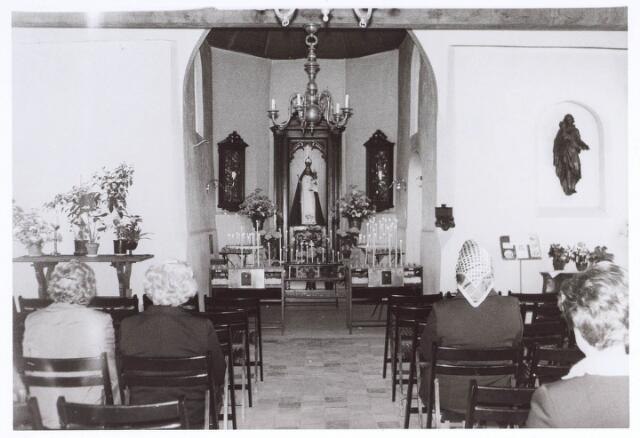 020335 - Interieur van de Hasseltse kapel na de laatste restauratie