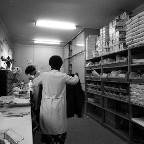 655789 - Elizabeth Ziekenhuis locatie Jan van Beverwijckstraat Tilburg in 1981.