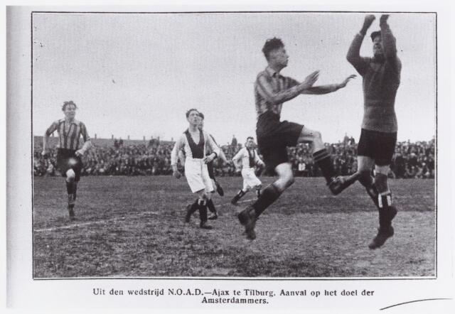 054179 - Sport. Voetbal. NOAD. Op 25 maart 1928 speelde Noad een wedstrijd tegen Ajax in het kader van het landskampioenschap van Nederland. De uitslag van deze wedstrijd is 0 - 0.