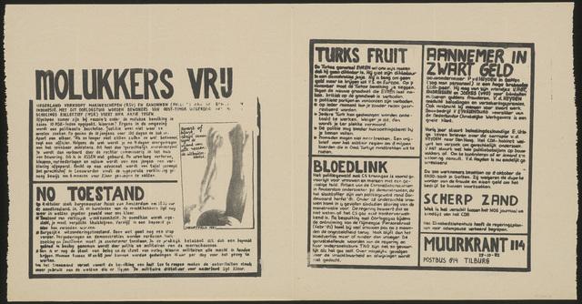 668_1982_114 - Muurkrant: Molukkers vrij