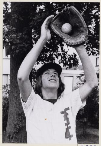 101419 - Sport. Honkbal. Hans Smits. Baseball.