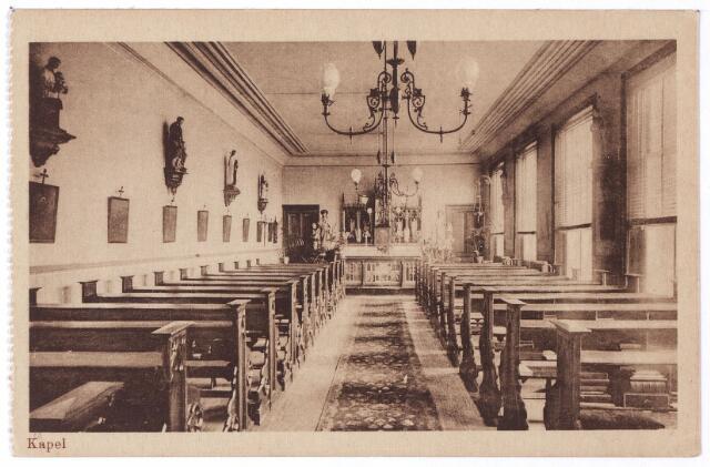 001770 - Onderwijs. Oude Dijk, kapel van de kweekschool verbonden aan het  moederhuis van de zusters van liefde.