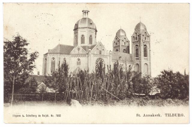 000346 - Capucijnenstraat,  St. Annakerk.