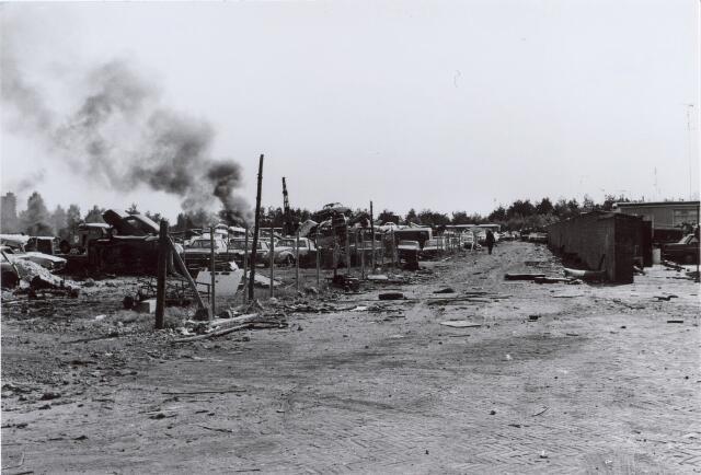 014145 - Brand op het terrein van een autosloperij aan de Albionstraat
